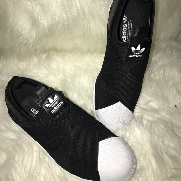 Brand NEW Women's Adidas Superstar Slip On